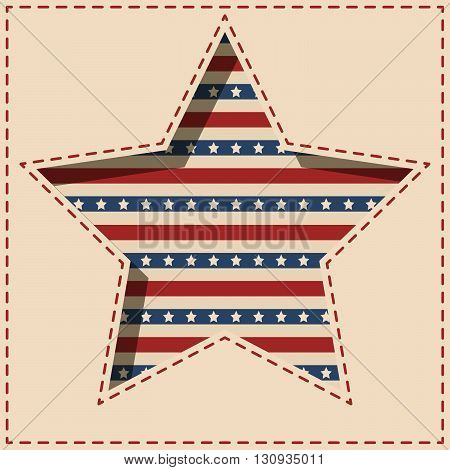 American Star Background.