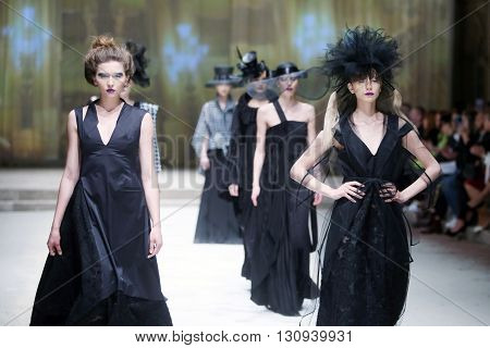 Cro A Porter Fashion Show : Etna Maar, Zagreb, Croatia