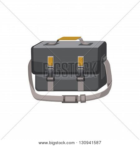 Bag for camera icon in cartoon style isolated on white background. Components for  photo shooting symbol