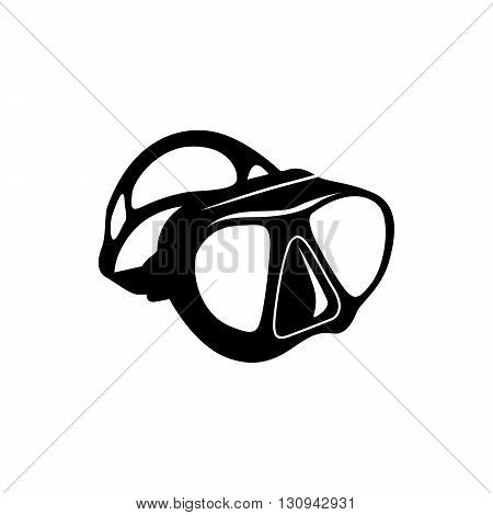Dive mask icon in simple style isolated on white background. Equipment for swimming  symbol