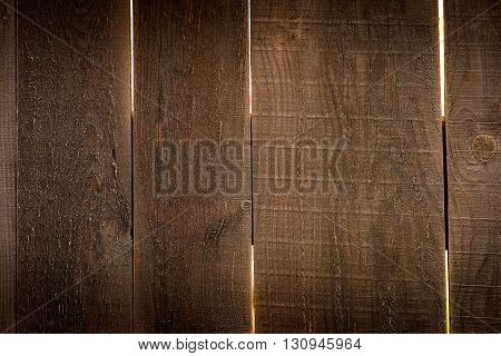 New and porous wooden background in natural light