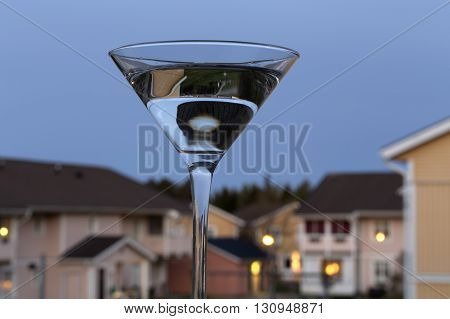 Glass In The Evening
