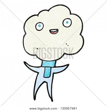 cute cloud head creature