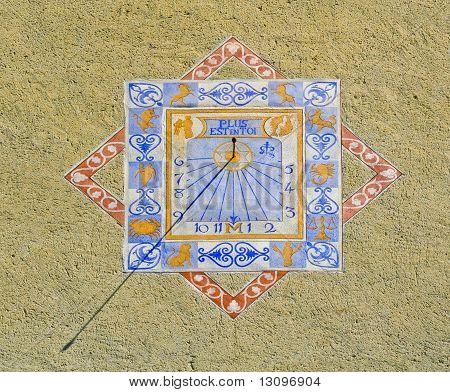 Zodiacal sundial
