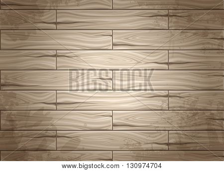 Realistic seamless texture of wood wood planks. Concept design for web design. Use texture. Set seamless background