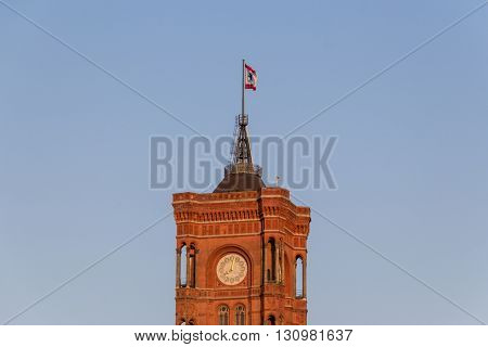 Red Town Hall (rotes Rathaus) Berlin