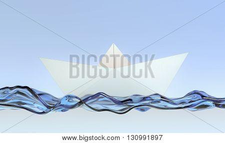 Origami, Paper Boat