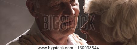 Affectionate Elderly Marriage