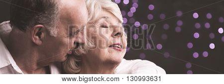 Romantic Whispering Into Ear
