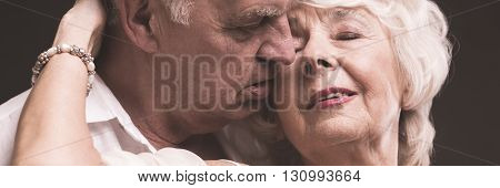 Romantic Couple Embracing