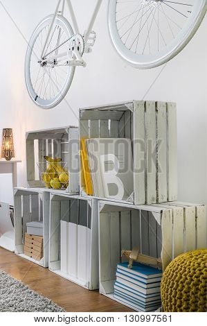 Diy Furniture- Fruit Wooden Crates