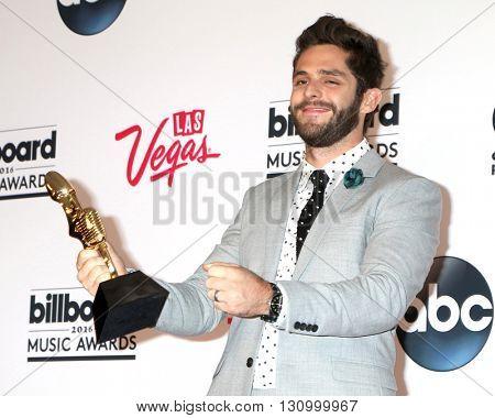 LAS VEGAS - MAY 22:  Thomas Rhett at the Billboard Music Awards 2016 at the T-Mobile Arena on May 22, 2016 in Las Vegas, NV