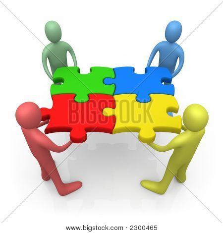 Arbeiten zusammen