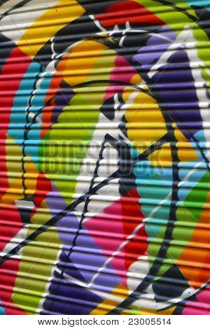 Colorful Graffiti Art
