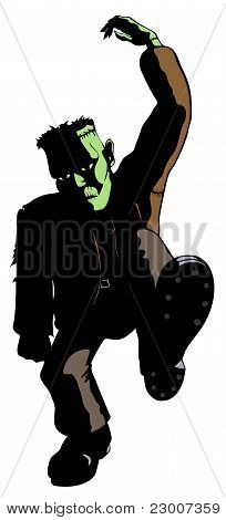 Frankenstein's Monster Dances : Bigstock