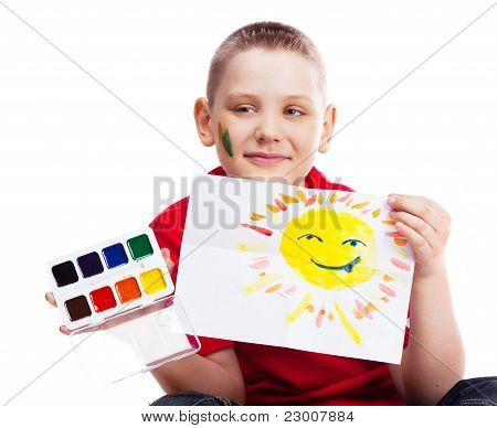 Boy With A Picture