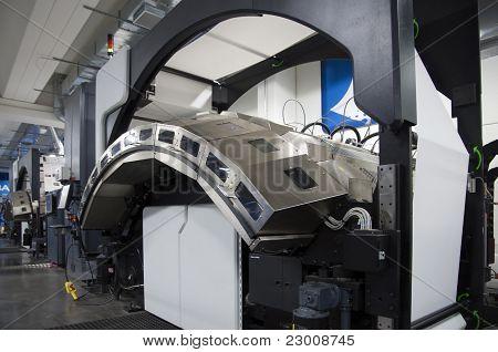 Máquina de impressão: Digital Web Press
