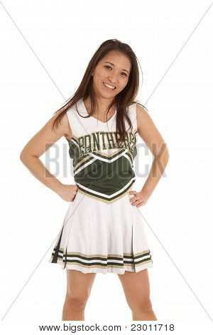 Cheerleader Standing