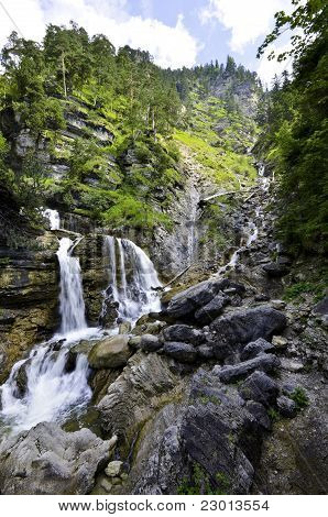 Farchant Waterfalls
