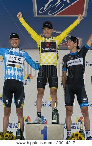 Denver, Co - Aug 28: Usa Pro Cycling Challenge Overal Podium