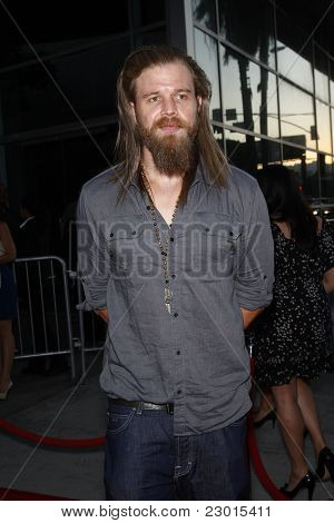 LOS ANGELES, CA - AUGUST 30: Ryan Hurst at the FX's 'Sons Of Anarchy' season 4 premiere at the ArcLight Cinemas Cinerama Dome on August 30, 2011 in Los Angeles, California