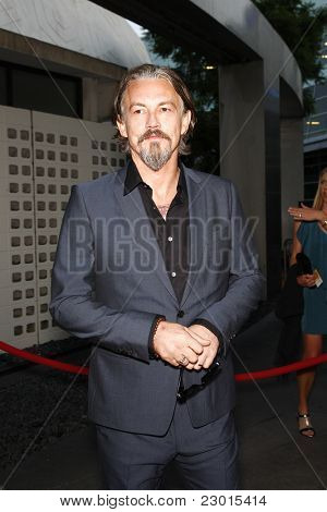 LOS ANGELES, CA - AUGUST 30: Tommy Flanagan at the FX's 'Sons Of Anarchy' season 4 premiere at the ArcLight Cinemas Cinerama Dome on August 30, 2011 in Los Angeles, California