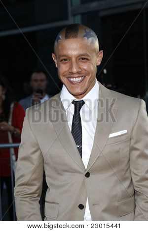 LOS ANGELES, CA - AUGUST 30: Theo Rossi at the FX's 'Sons Of Anarchy' season 4 premiere at the ArcLight Cinemas Cinerama Dome on August 30, 2011 in Los Angeles, California