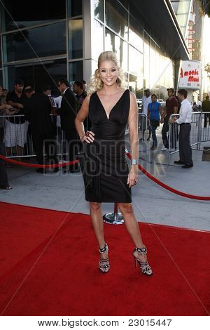 LOS ANGELES, CA - AUGUST 30: Kristen Renton at the FX's 'Sons Of Anarchy' season 4 premiere at the ArcLight Cinemas Cinerama Dome on August 30, 2011 in Los Angeles, California