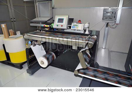 Pressione a impressão - impressora Digital para rótulos