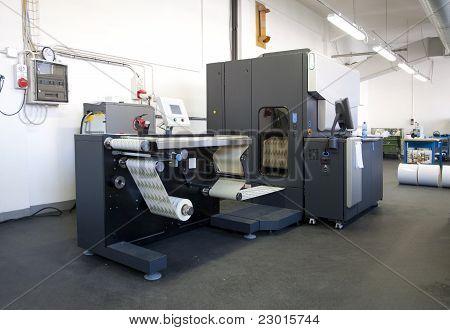 Imprensa impressão - impressora Digital para rótulos