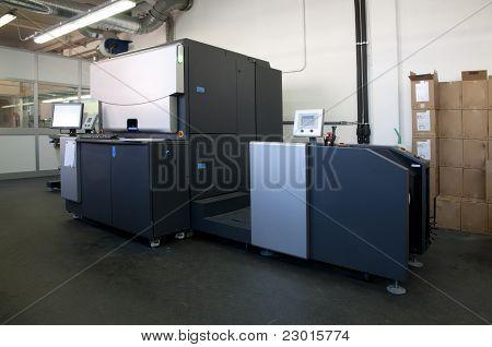 Press printing - Digital printer for labels