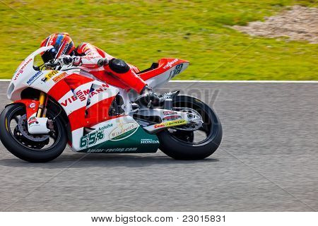 Stefan Bradl Pilot Of Moto2 In The Motogp