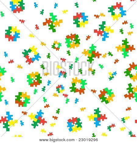 Seamless Eight-bit Color Texture