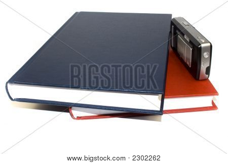 Two Business Documents And Mobile Phone.