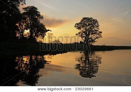 Lago Yojoa In Hoduras