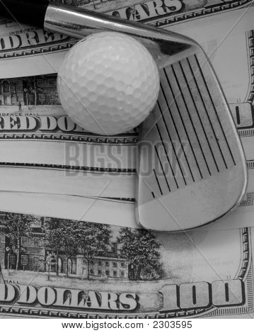 Golf Club, Ball - Big Money