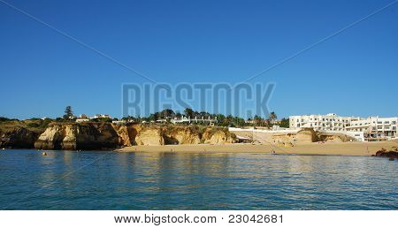 Beach Batata In Lagos In The Algarve Portugal