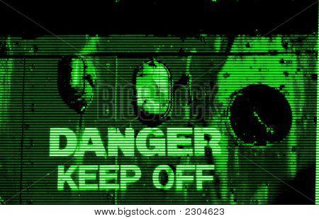 Visão noturna de perigo