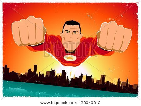 It's A Bird ! - Flying Super Hero