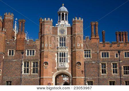 Entrance to the Hampton Court castle
