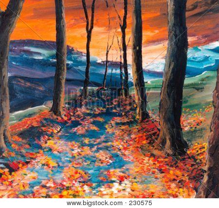 Autumnal Road