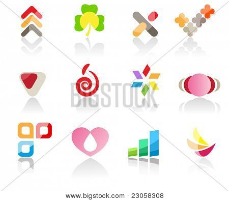 Set of different icons (part 11). Please visit my gallery to see similar.