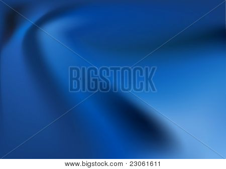 Vector blue silk background