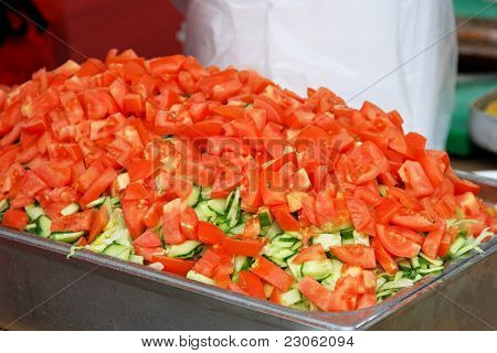 Choped Tomato