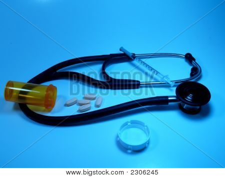 Medical Instruments  Blue
