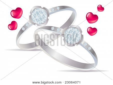 Two rings. Raster version. Vector version is in my gallery.