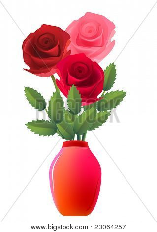 Rose bunch. Raster version. Vector  version is in my gallery.