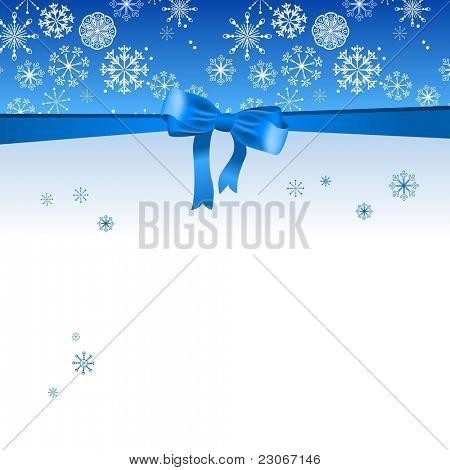 Fundo de Natal azul bonito