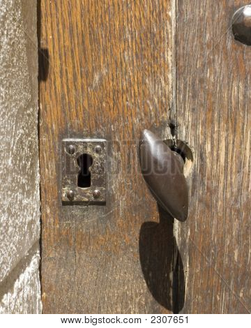 Castle Door W Key Hole