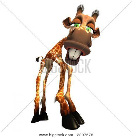 Gaffy The Giraffe